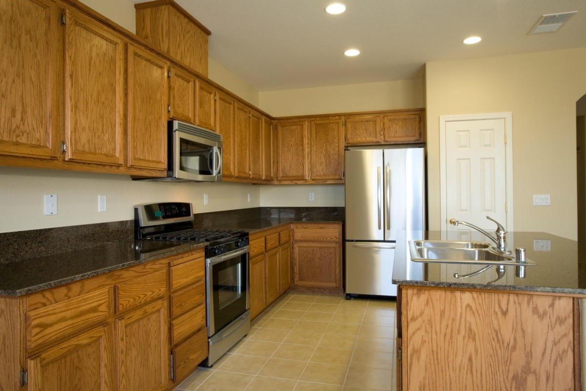 Mustard Color Paint For Kitchen Paint Color Advice For A Kitchen With Oak Cabinets Thriftyfun