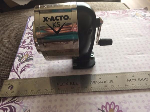 Making A Decorative Portable Pencil Sharpener Thriftyfun