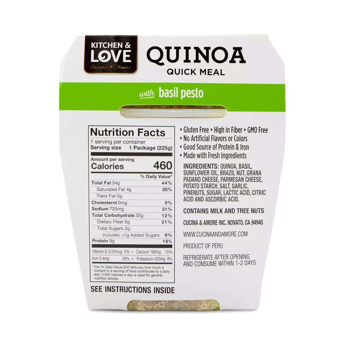 Cucina & Amore Piquillo Peppers Kitchen Of Love Cucina Amore Quinoa Meal Quinoa In A Cup The