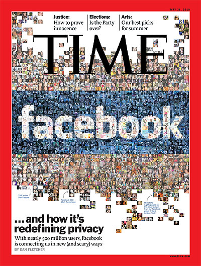 TIME Magazine Cover Facebookand How It\u0027s Redefining Privacy