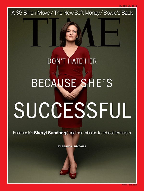 TIME Magazine Cover Don\u0027t Hate Her Because She\u0027s Successful - Mar