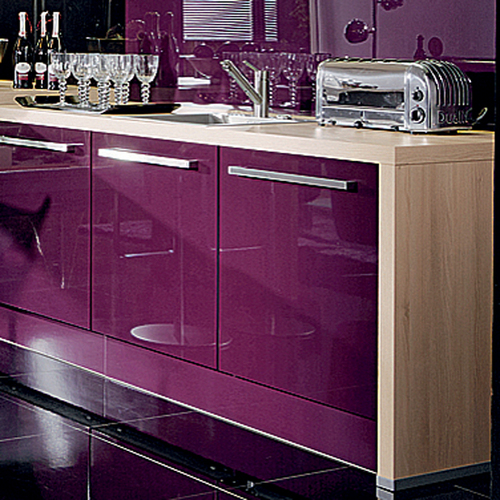 Lacquered Glass Kitchen Cabinets Finished Lacquered Glass In Kolkata, West Bengal, India