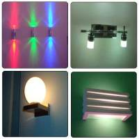 LED Wall Lights in Surat, Gujarat, India - Sukharam ...