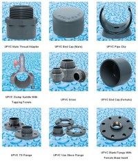 PVC/UPVC Pipes And Pipe Fittings for Water Supply in ...
