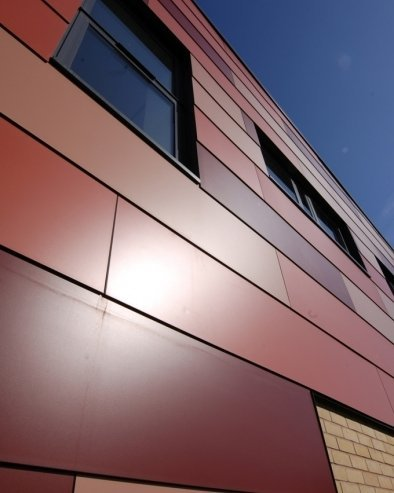 Alucobond aluminum composite panel in wuxi jiangsu china