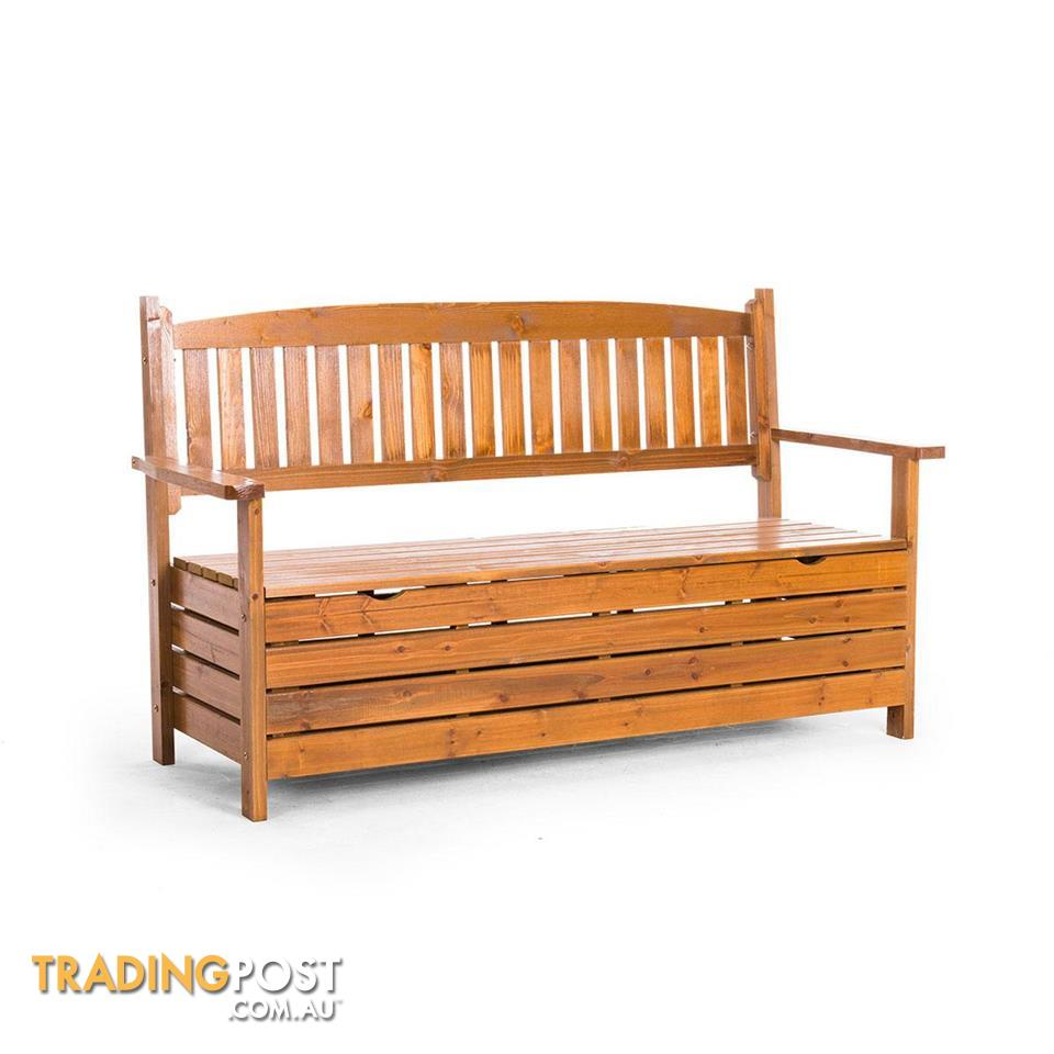 Garden Bench Australia 1 5m Wooden Storage Bench Garden Chest