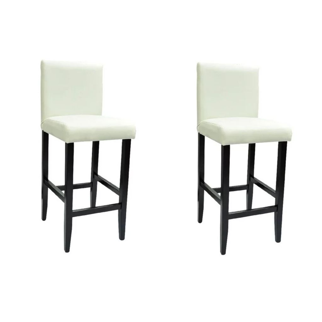 Lot De 2 Tabourets De Bar Blanc Dès 139 99 Lot De 2 Tabourets De Bar Blanc Interougehome