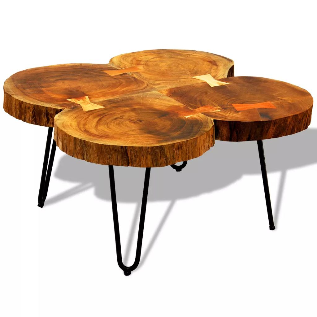 Table Basse Sheesham Dès 109 99 Table Basse En Bois Massif Sheesham Table Basse Interougehome
