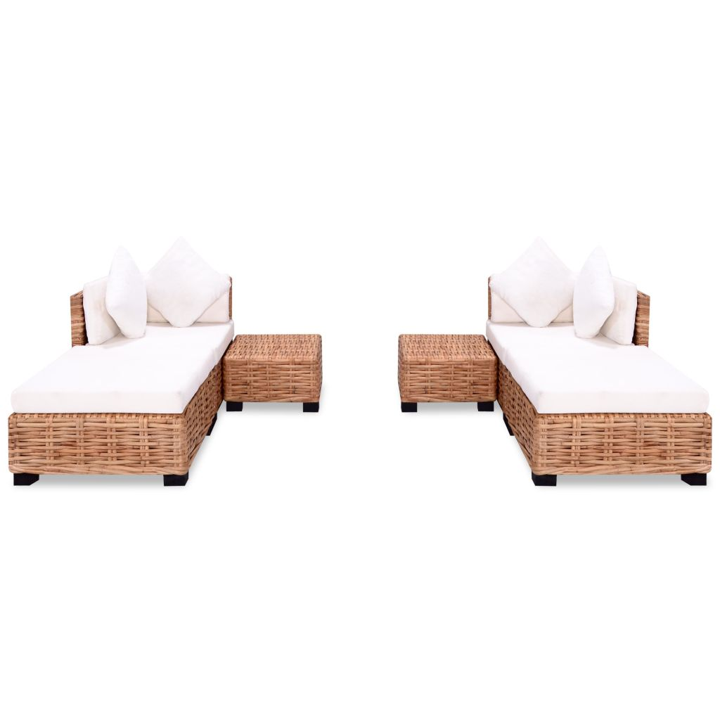 Store Exterieur Rotin Dès 639 99 Ensemble De Canapés 16 Pcs Rotin Naturel Interougehome