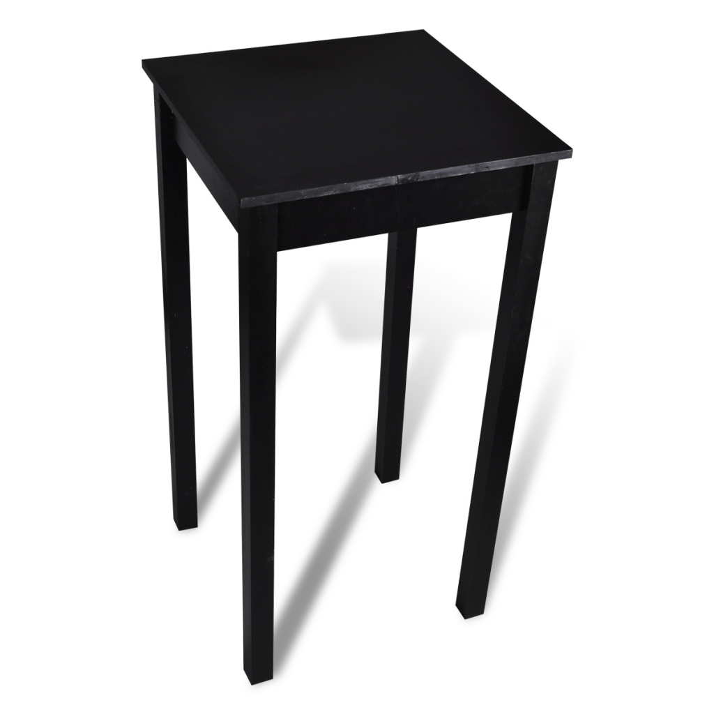 Bar Table Haute Black Bar Table Dining Table 55 X 55 X 107 Cm Lovdock
