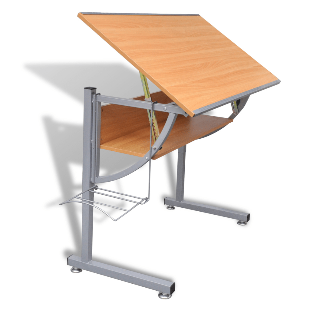 Adjustable Height Drafting Table Wood Teenager S Drafting Table Height Adjustable Tiltable Lovdock