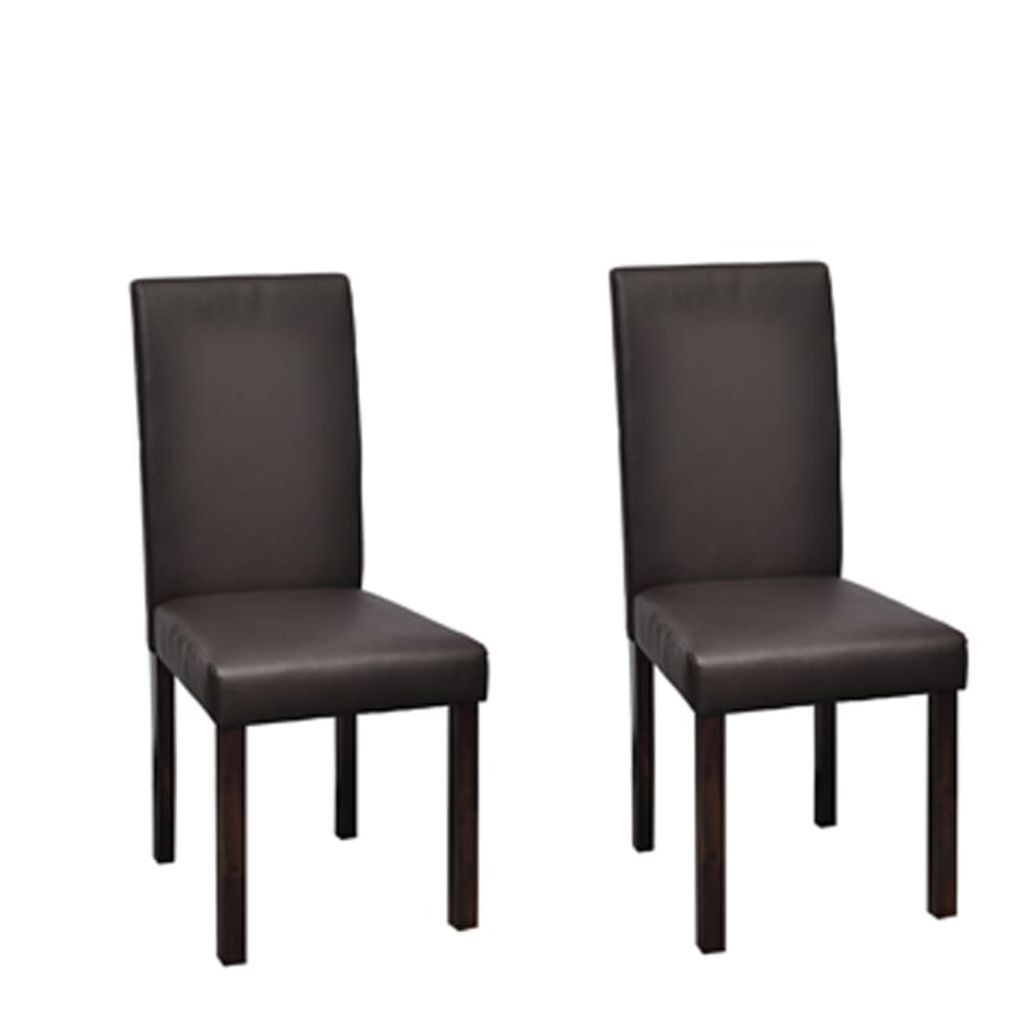 Lot De 6 Chaises Marron Chaises Marron