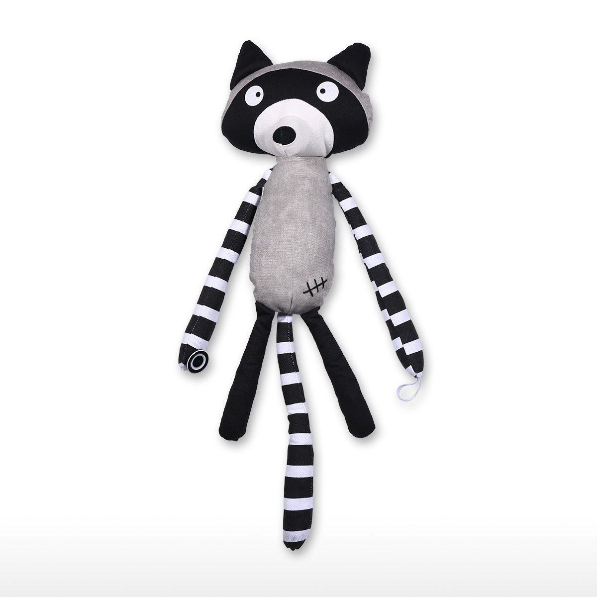 Baby Nursery Curtain Tie Backs Best And Cheap Grey And Black Raccoon Curtain Tieback Lovely Curtain Holdback Kid Child Infant Nursery Bedroom Living Room Tieback Tooarts