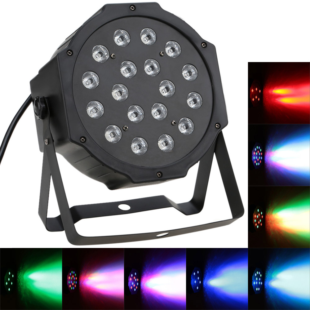 Led Dmx Eu 7 Channel Dmx 512 Rgb Led Stage Par Light Lovdock