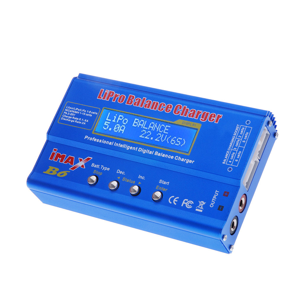 Battery Digital Imax B6 80w Multi Function Professional Intelligent 1 6 Cells Xt60 Lipo Battery Digital Balance Charger