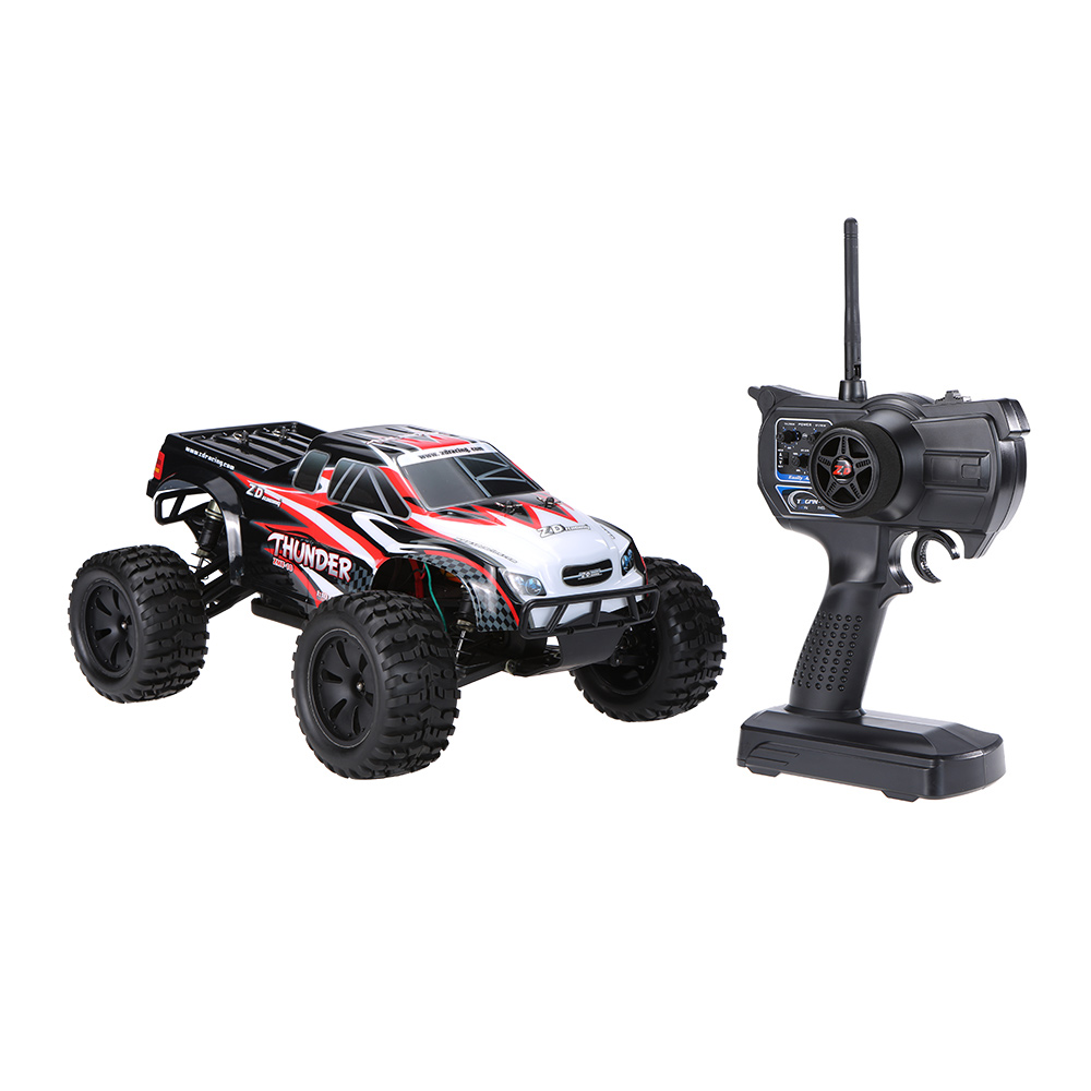 Rtr Rc Trucks Electric Zd Racing No 9106 Thunder Zmt 10 Brushless Electric Monster Truck Rc Car 2 4ghz 4wd 1 10 Scale Rtr
