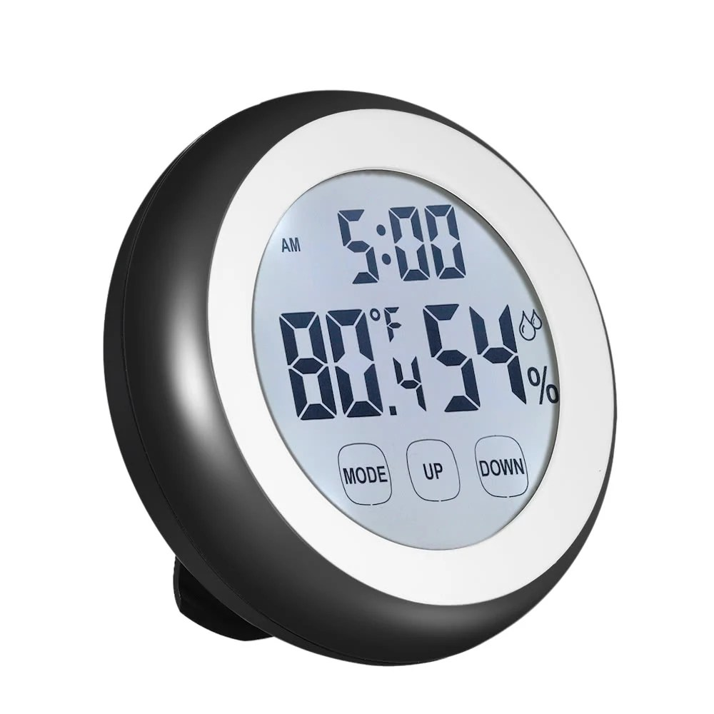 Digital Clock For Sale C F Digital Thermometer Hygrometer Temperature Humidity Meter Alarm Clock