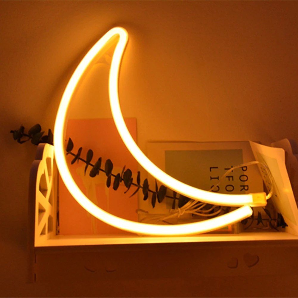 Neon Lamp Best Led Neon Lamp Usb Charging Decorative Light Warm White 1 Sale Online Shopping Cafago