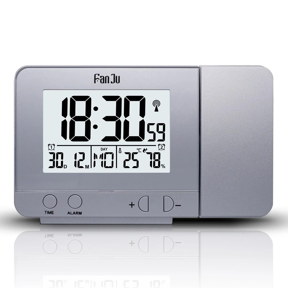 Digital Clock For Sale Best Fanju Projection Alarm Clock Rotatable Digital Projection Sale Online Shopping Cafago