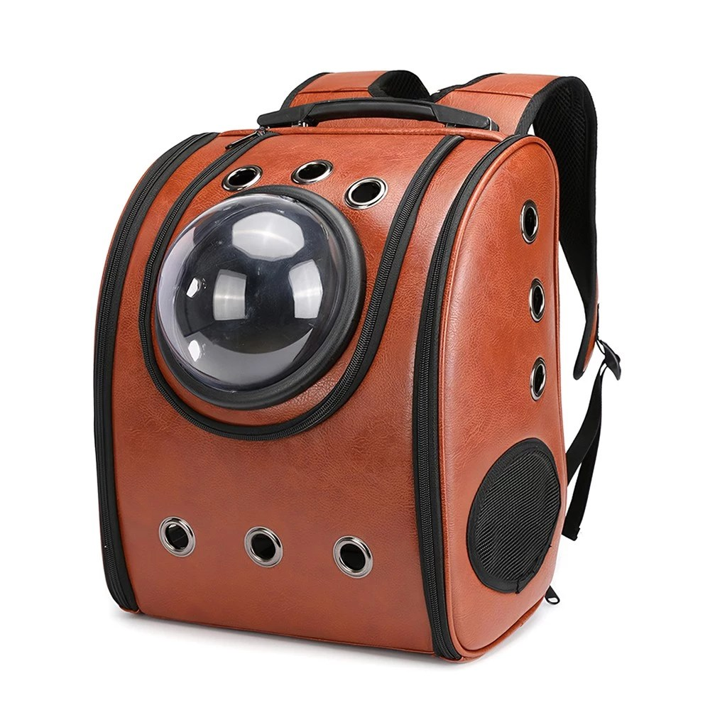 Pet Carrier On Sale Best Pet Carrier Backpack Space Capsule Dog Brown Sale Online Shopping Cafago