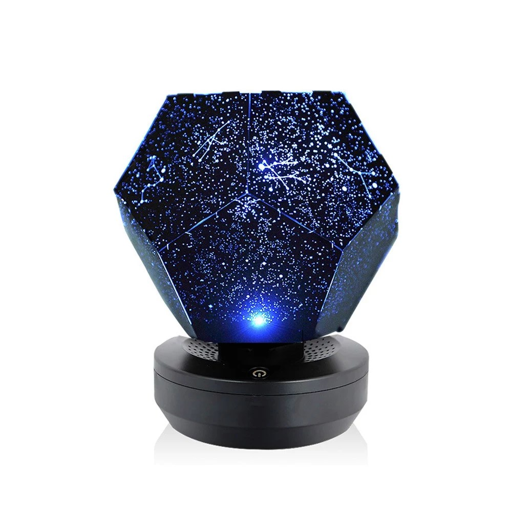 Romantische Led Starry Night Lampe 3d Sterne Projektor Licht Schlafzimmer Konstellation Projektor Home Planetarium