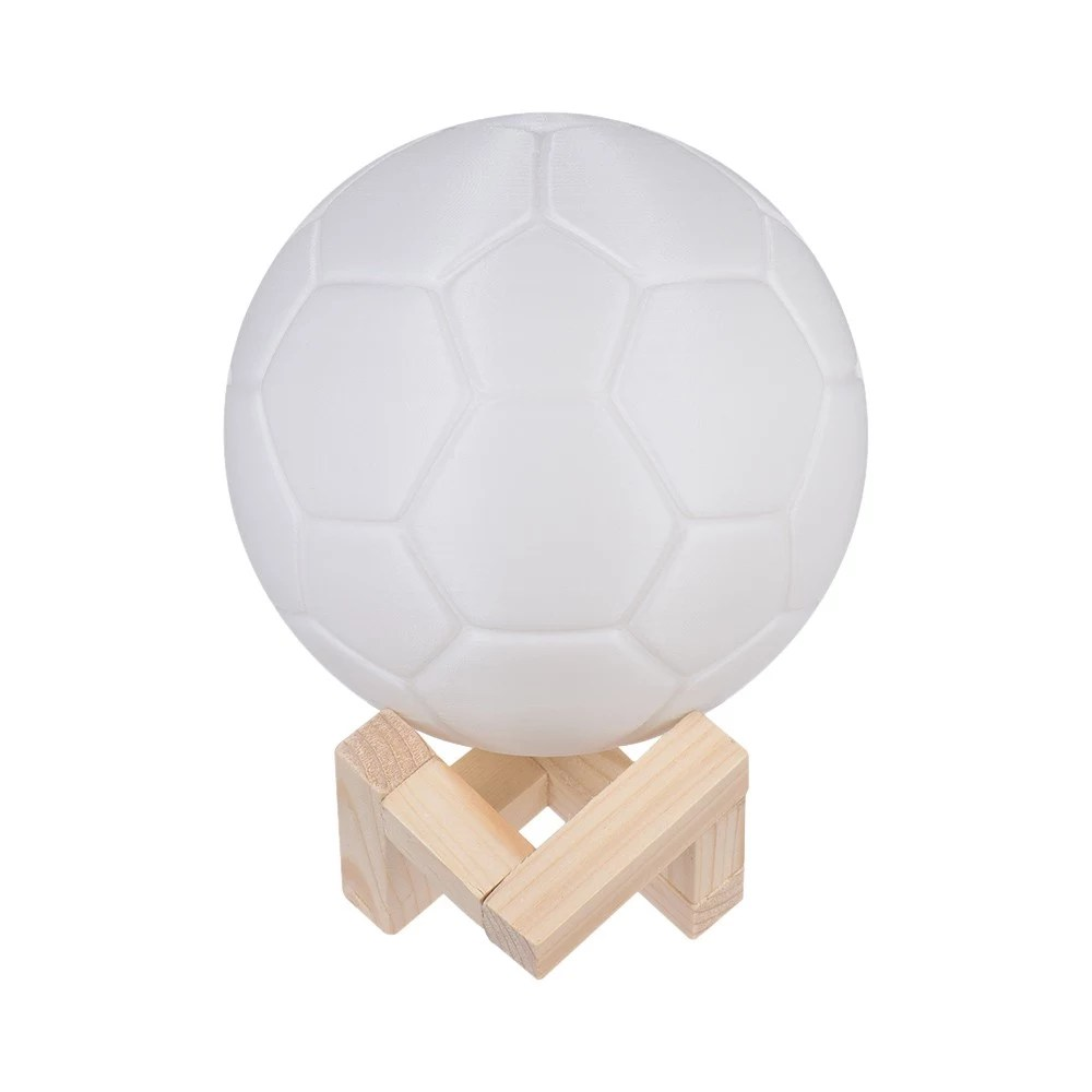 Lampe Fußball 2018 World Cup Fußball Lampe 7 Color 3d Print Fußball Led Nachtlicht Ball 8 Tomtop
