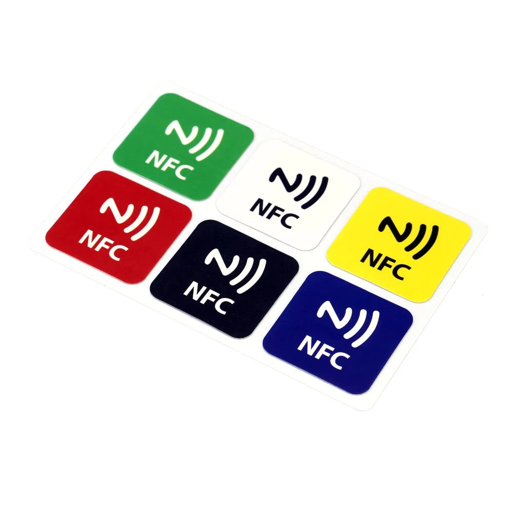 Nfc Tags Best 6pcs Lot Smart Nfc Tags Sale Online Shopping Multi Clolor Cafago