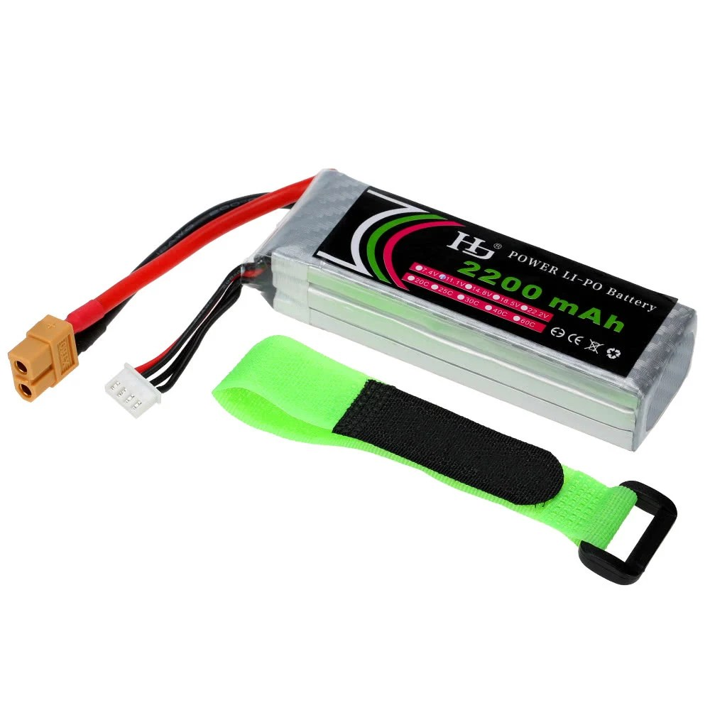 3s Lipo 11 1v 2200mah 25c 3s Lipo Battery With Xt60 Plug For Rc Quadcopter Airplane Helicopter Car Truck Boat Hobby