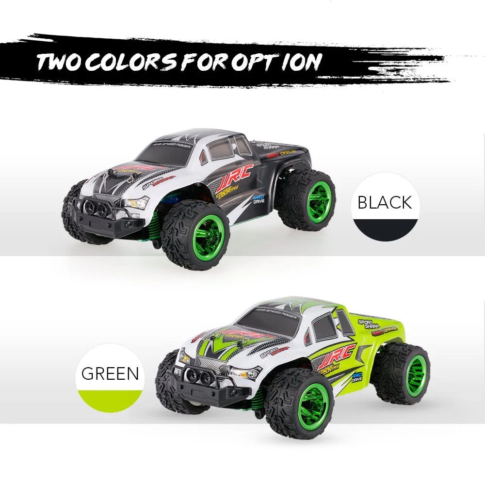 Rtr Rc Trucks Electric Original Jjr C Q35 2 4ghz 4wd 1 26 Electric Rtr High Speed Monster Truck Rc Car For Sale Us 39 99 Black Tomtop