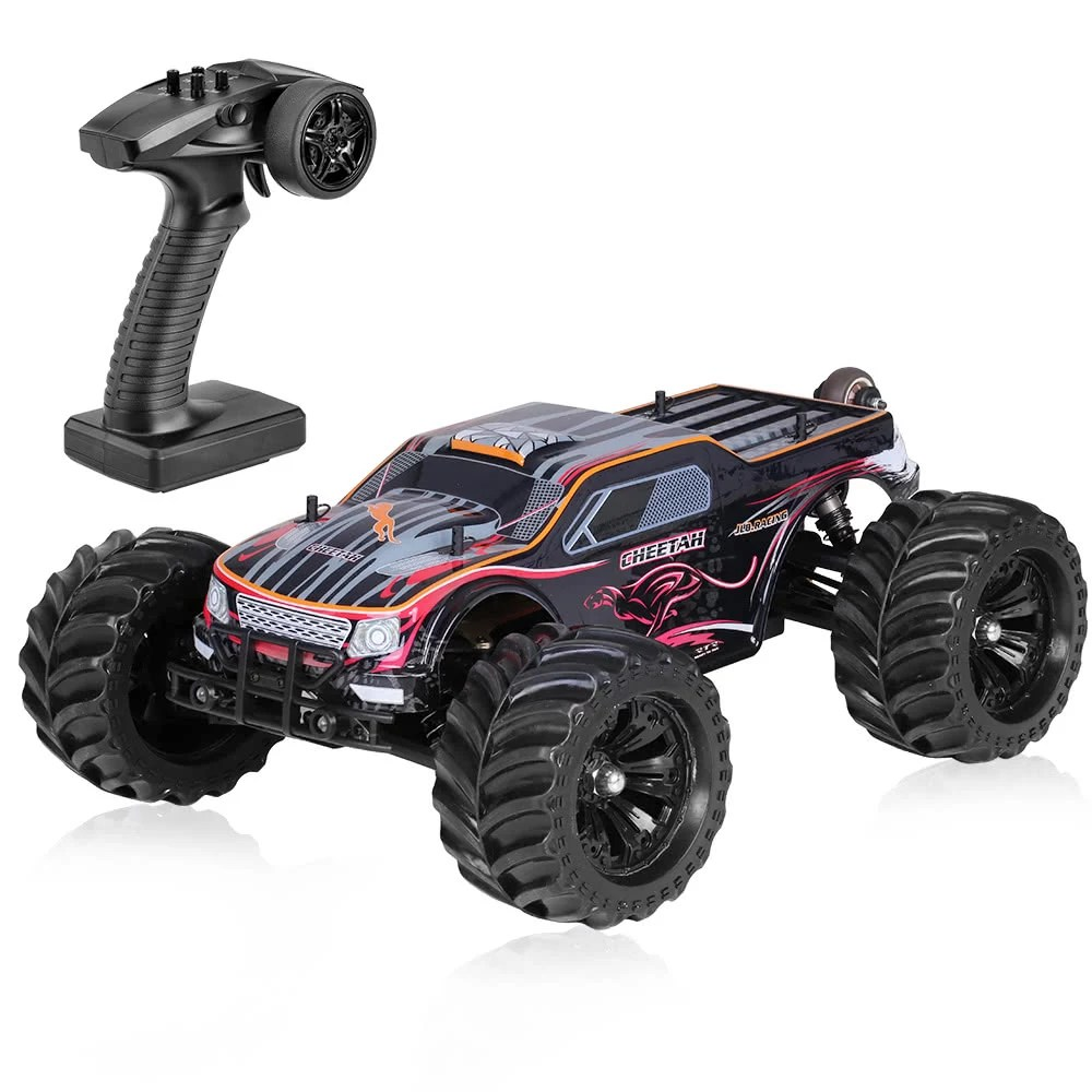 Rtr Rc Trucks Electric Original Jlb Racing 11101 1 10 2 4g 4wd Electric Brushless 90km H High Speed Off Road Monster Truck Rtr Rc Car For Sale Us 350 Us Tomtop