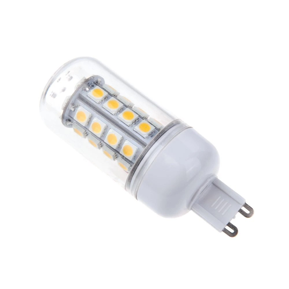 Led G9 5w G9 5w 5050 Smd 36 Led Corn Light Bulb Lamp Energy Saving 360 Degree White 220 240v