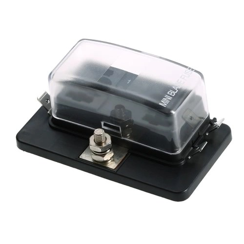 4 Way Mini Blade Fuse Box Holder APM ATM 5A 10A 25A for Car Boat