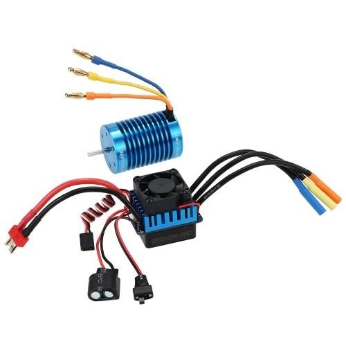Original GoolRC 3650 4370KV 4P Sensorless Brushless Motor  45A