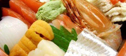 味蕾喜歡你:榮松吟鮨(超值的散壽司)