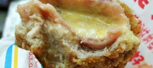 味蕾最愛你:飛來發---起士火腿炸豬排