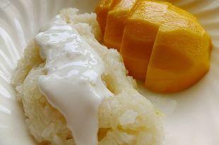 [食譜] 芒果飯做法(泰式甜點:芒果糯米椰汁飯)