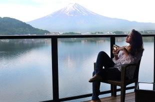[自助旅行] 河口湖泡溫泉看富士山!湖山亭飯店推薦與河口湖交通方式