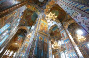 [自助旅行] 俄羅斯聖彼得堡滴血救世主大教堂(基督喋血大教堂)