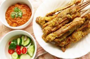 [食譜] 泰式沙嗲烤肉做法,沙嗲醬做法 สะเต๊ะ