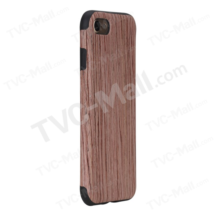 ROCK Element Series Wood Slice + TPU Back Case for iPhone 7 47 inch