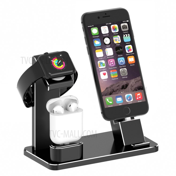 Ladestation Iphone Hjzj001 Apple Iwatch Iphone Stand Airpods Ladestation
