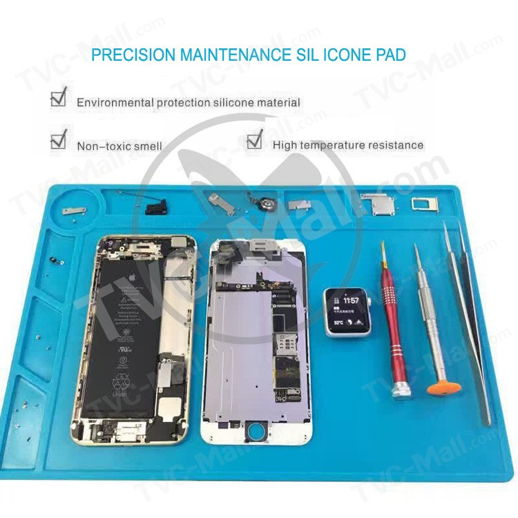 Precision Maintenance Phone Repair Silicone Pad, Size 340 x 230mm