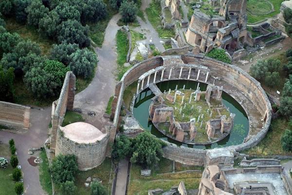 Bilder 3D-Modelle von römischen Kaiser Hadrians Villa - badezimmer 3d modelle