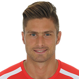 Giroud makes France squad for EUROS