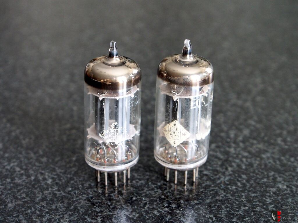 Telefunken Test Telefunken 12ax7 Ecc83 Vintage Tube Pair Test Strong Photo