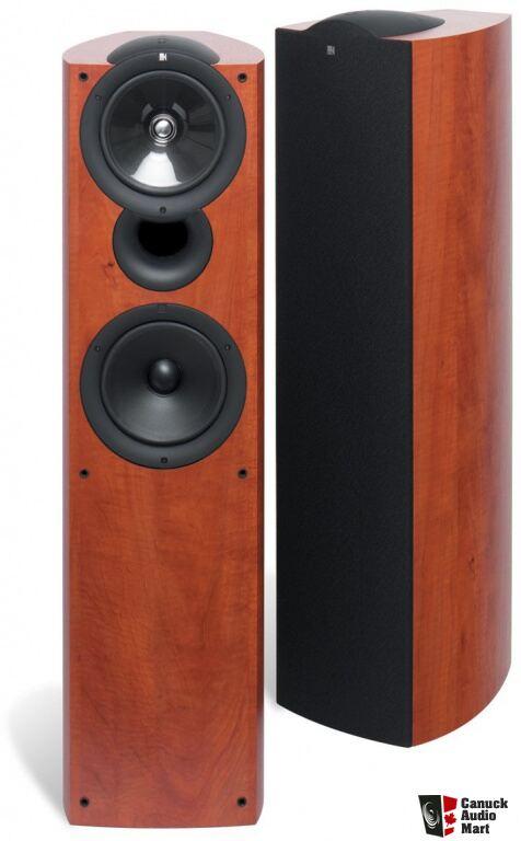 Kef Q5 Floor Standing Speakers Audiophile Cables