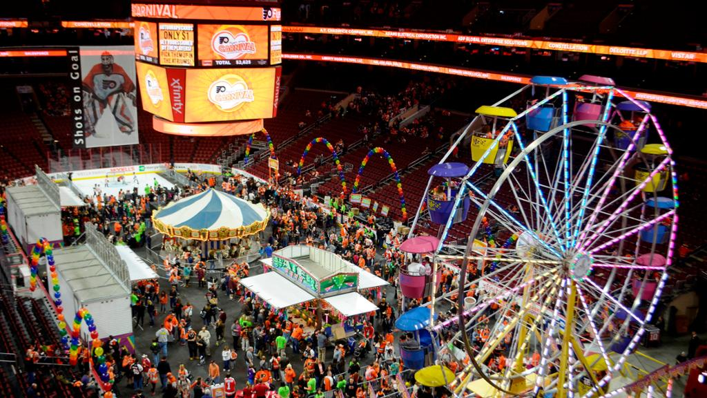 Philadelphia Flyers Carnival A Bright Spot in the City of Brotherly