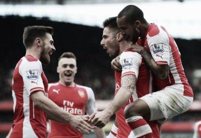 Arsenal vence dérbi londrino contra West Ham e permanece no G-4 | VAVEL.com