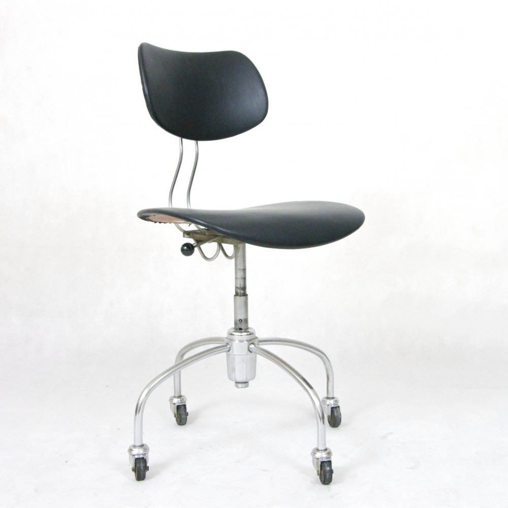 Egon Eiermann Se 40 R Office Chair By Egon Eiermann For Wilde Und Spieth 1950s