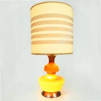Mid Century Danish design table lamp by Holmegaard, 1960s ...